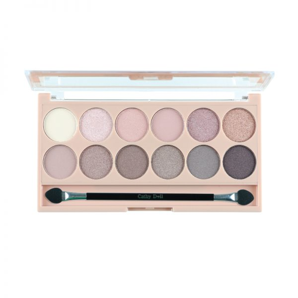 Cathy Doll Nude Me Eyeshadow Pink Champagne Open