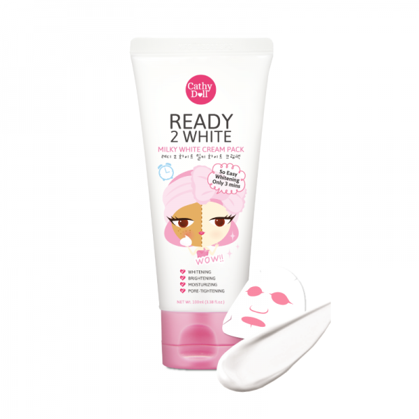 Cathy Doll Ready 2 White Milky White Cream Pack