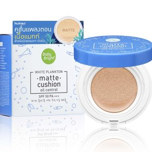 Baby Bright White Plankton Matte Cushion SPF50 PA+++